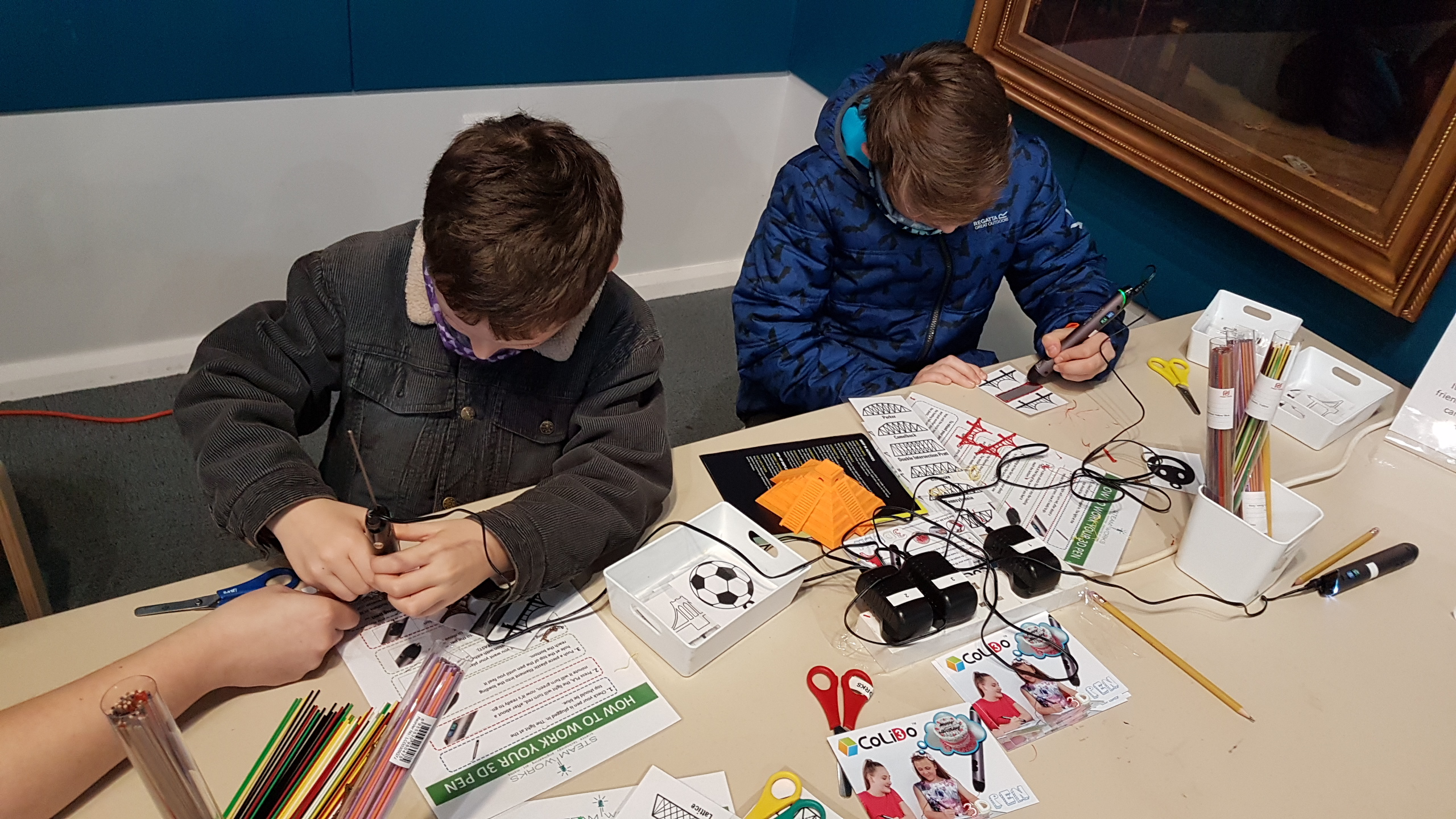 3D Pens inspire young engineers