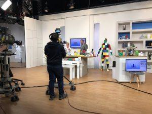 TV team puts machines through their paces