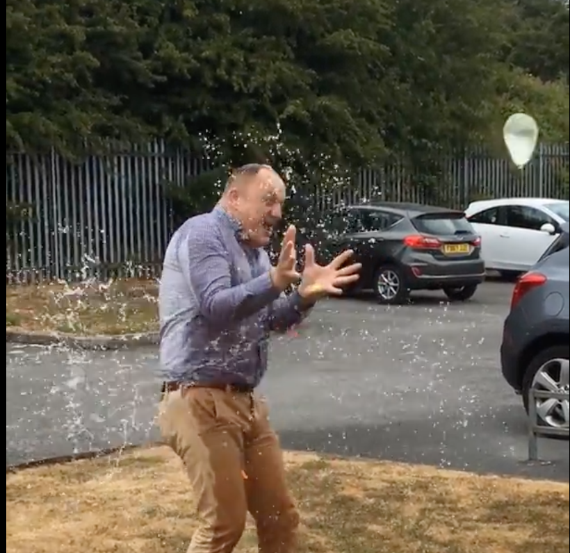 Sales success leads to a soaking