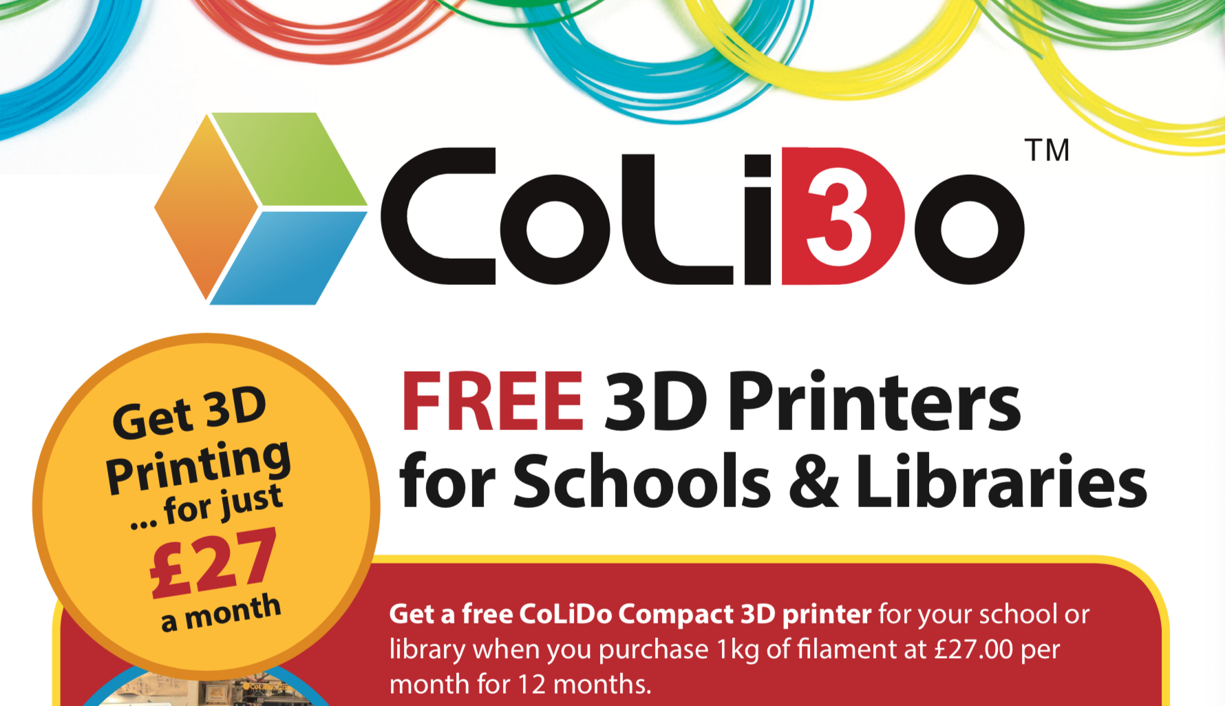 Stunning 3D printer offer for schools and libraries