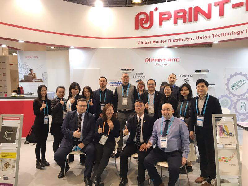 Print-Rite power at Paperworld